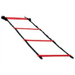 Echelle de rythme simple 4 m, coloris rouge