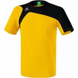 Tee-Shirt ERIMA Club 1900 2.0, couleur jaune et noir