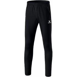 Pantalon d'entraînement Erima fuseau 2.0, couleur noir, de face