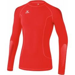 Sous maillot thermique Erima, couleur rouge