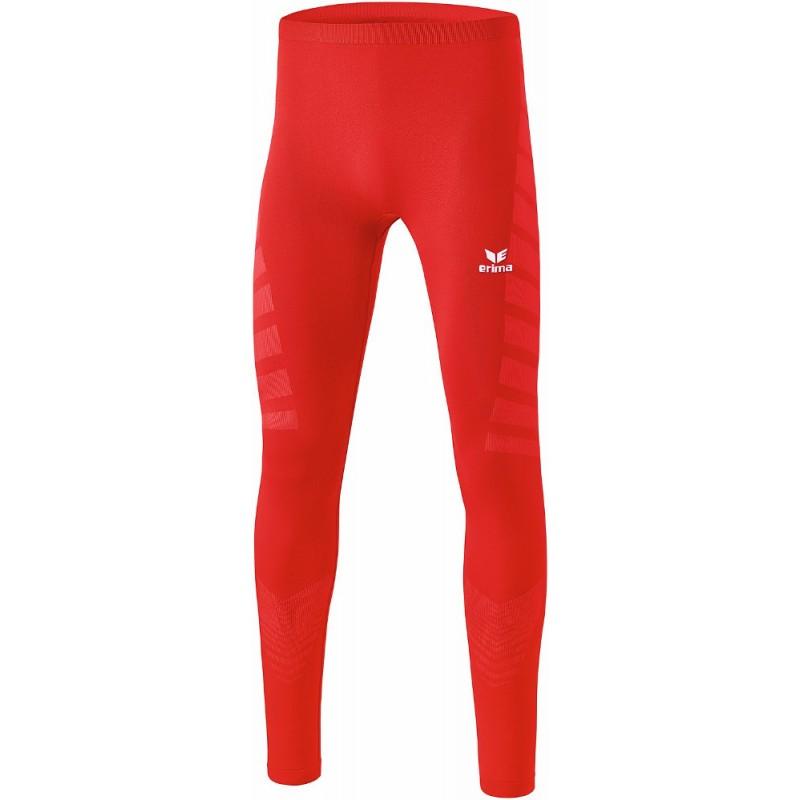 Collant de compression Erima, couleur rouge