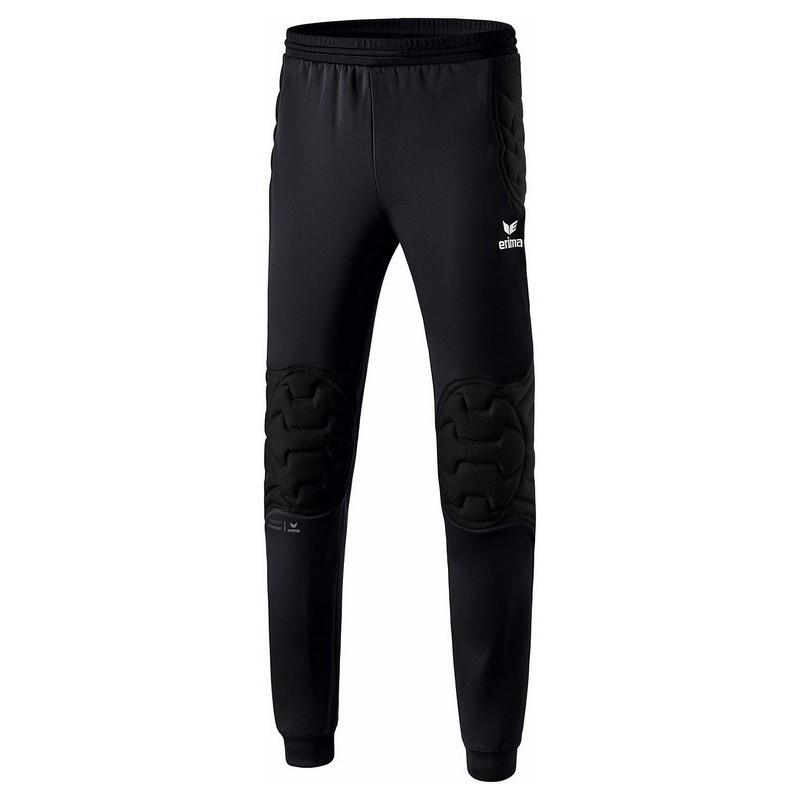Pantalon gardien de buts Elemental Erima, couleur noir, de face