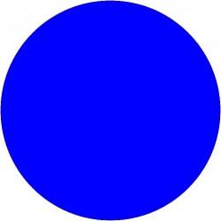 Marquage au sol cercle coloris bleu