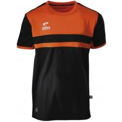 Tee-Shirt ELDERA Allure noir et orange