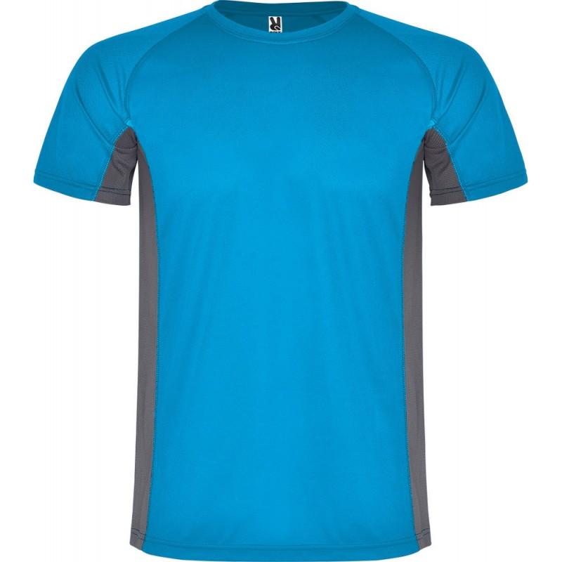 Tee Shirt Shanghai coloris bleu/gris