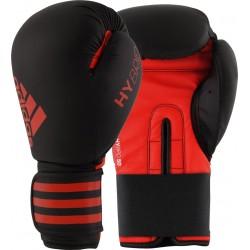 Paire Gants de boxe Adidas HYBRID 50 noir rouge