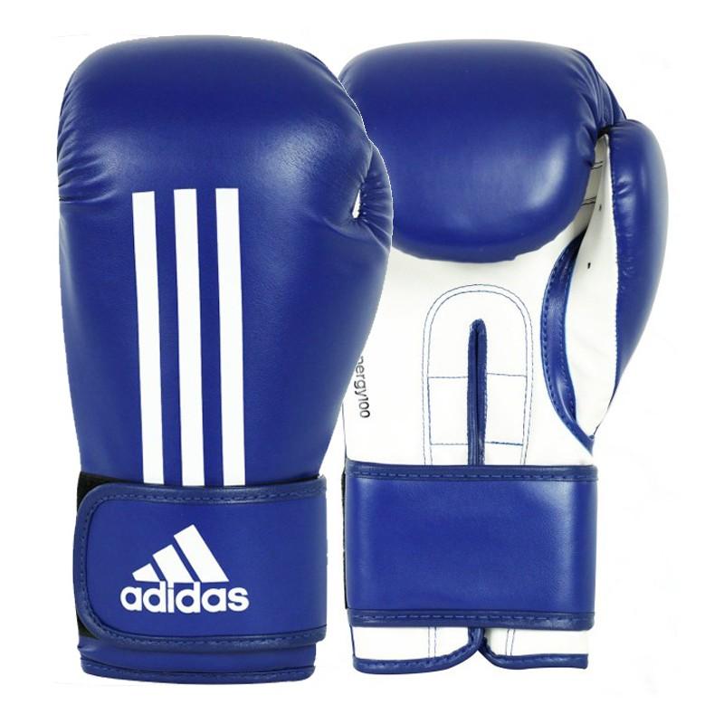 Gants de boxe Adidas ENERGY 100 bleu/blanc