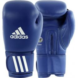 Paire de Gants de boxe Adidas Compétition AIBA bleu/blanc