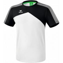 Tee-Shirt ERIMA Premium One 2.0, couleur blanc et noir