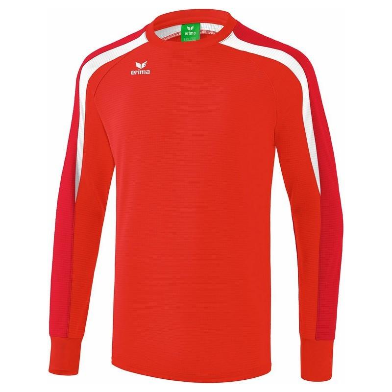 Sweat ERIMA Liga 2.0, couleur rouge, tango rouge et blanc