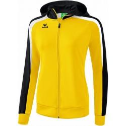 Veste à capuche ERIMA Liga 2.0 femme, couleur, jaune, noir et blanc