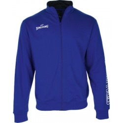 Veste Spalding Team II Zipper bleu roi