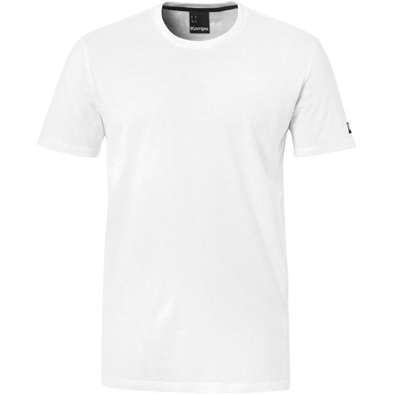 Tee shirt Kempa Team blanc