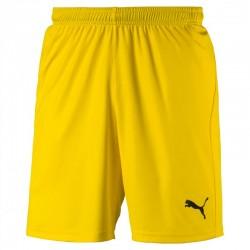 Short Puma Liga Core jaune