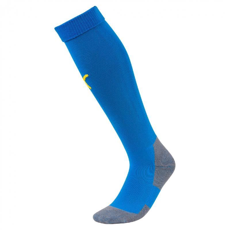 Chaussettes Puma Liga Core bleu roi jaune - la paire