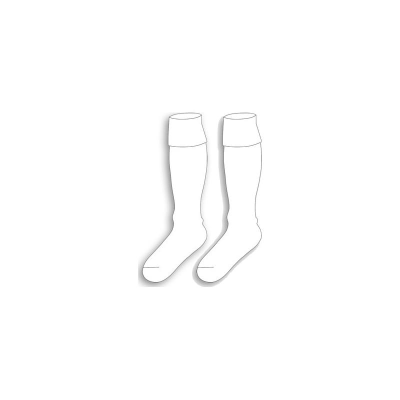 Chaussettes basic unies blanc