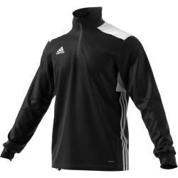 Sweat 1/4 Zip Adidas Regista 18 noir