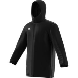 Veste de Coach Adidas Core 18 noir