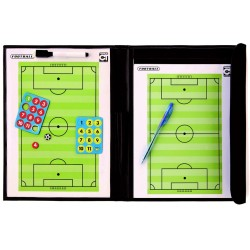Pochette magnétique et effaçable avec feuillets football