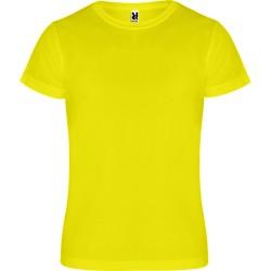 Tee Shirt Canimera coloris jaune fluo