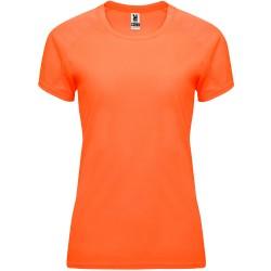 Tee Shirt Bahrain femme coloris orange