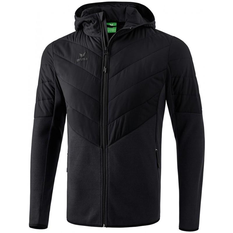 Veste matelassée à capuche Erima, couleur noir