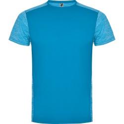 Tee Shirt running Zolder coloris turquoise