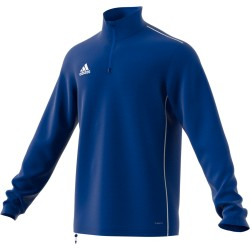 Sweat 1/4 Zip Core 18 Adidas bleu roi