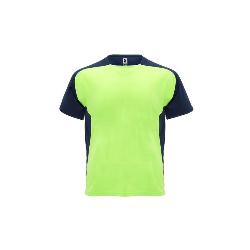 T-Shirt Bugatti Vert Fluo Noir