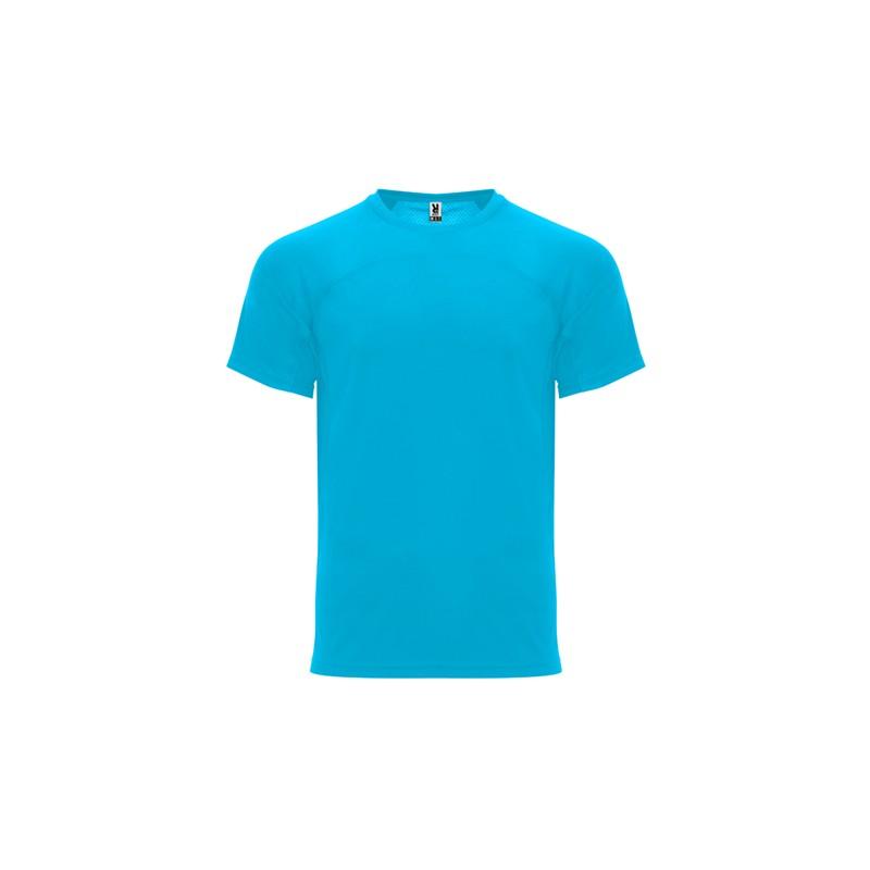 T-Shirt Monaco Turquoise