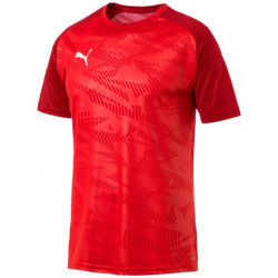 Tee shirt d'entrainement Cup Puma rouge bordeaux