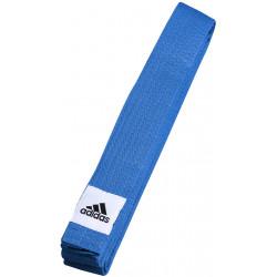 Ceinture Adidas Judo/Karaté/Taekwondo Club bleue