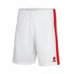 Short Errea Bolton blanc rouge