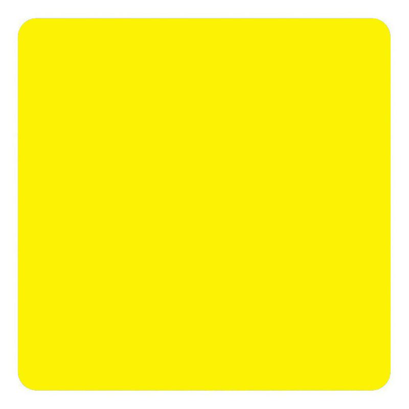 Marquage au sol Carré coloris jaune