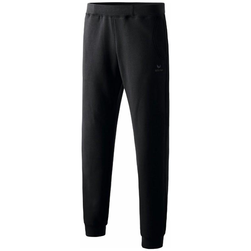 Pantalon sweat élastiqué ERIMA de couleur noir