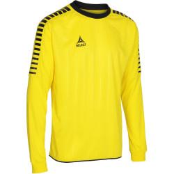 Maillot Select Argentina manches longues coloris jaune/noir