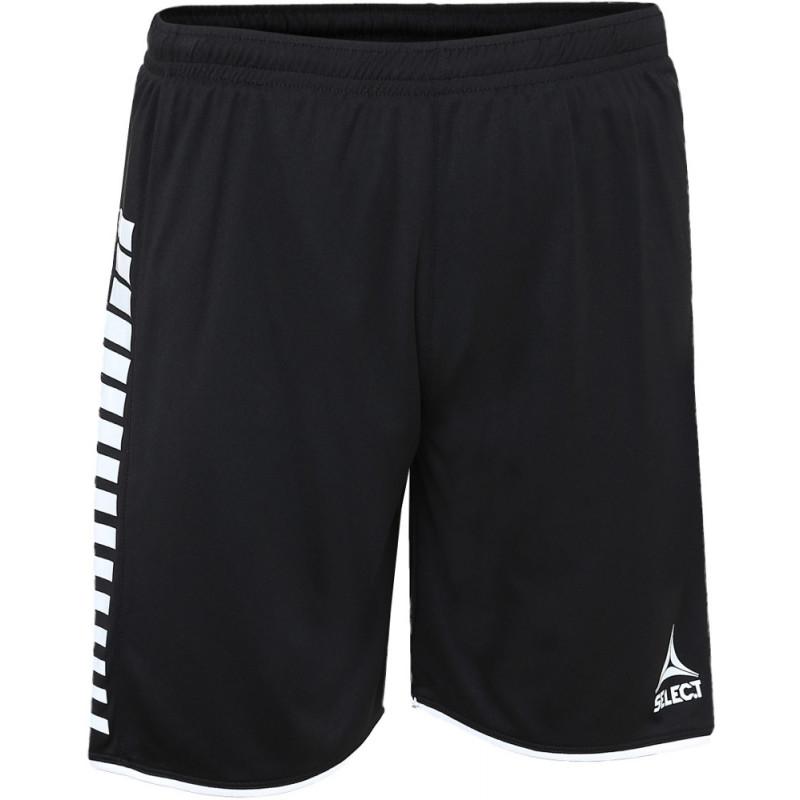 Short Select Argentina coloris noir/blanc