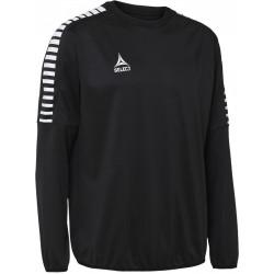 Sweat col rond Select Argentina coloris noir/blanc