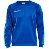 Sweat Progress Craft coloris bleu cobalt/blanc