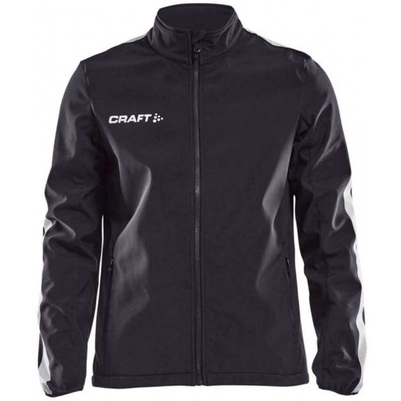 Veste Softshell Craft Pro Control coloris noir/blanc