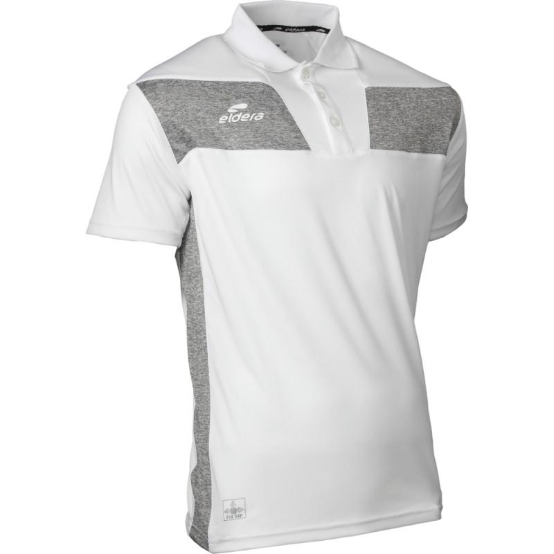 Polo ELDERA 10Namik blanc et gris
