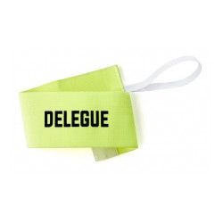 Brassard de délégué jaune Fluo