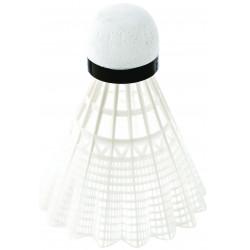lot de 6 volants badminton, coloris blanc