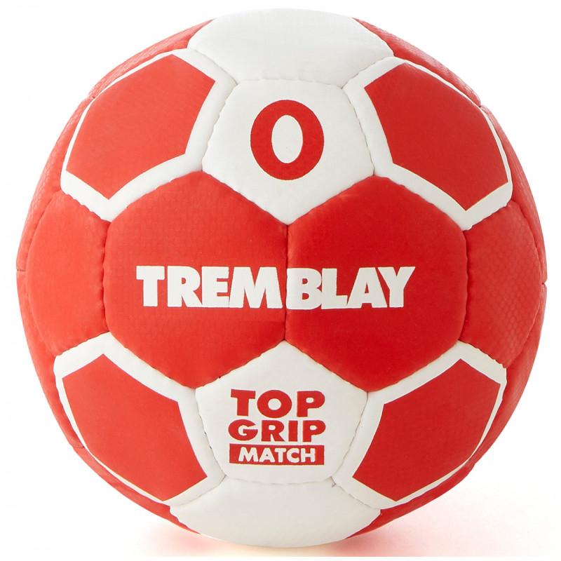 Ballon Top Grip 2ème génération, taille 0, rouge et blanc