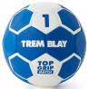 Ballon Top Grip 2ème génération, taille 1, bleu et blanc