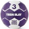 Ballon Top Grip 2ème génération, taille 3, violet et blanc.