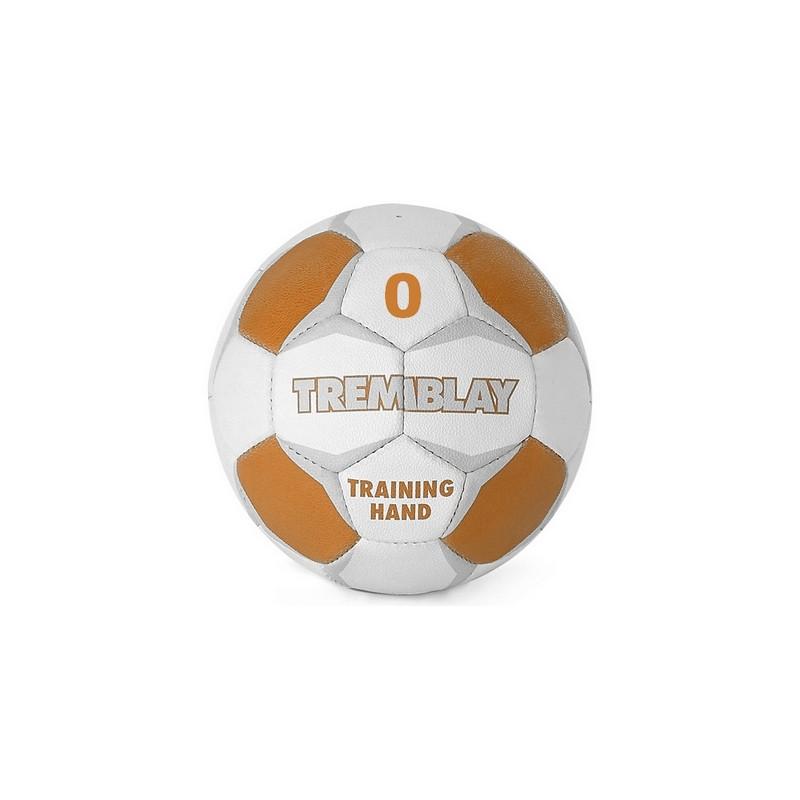 Ballon Training Hand, taille 0, blanc et orange