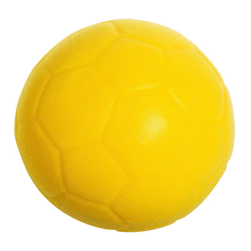 Ballon Mouss'Foot, coloris jaune