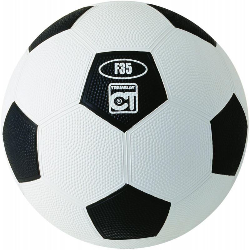 Ballon Resist'Foot, blanc et noir