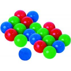 Lot de 20 balles pour jeu du parachute